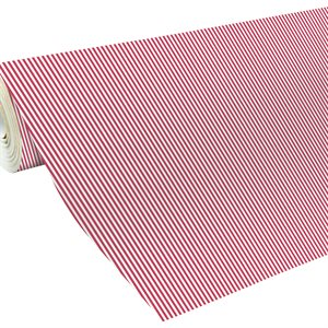 ACACIA 2m x 70cm RAYURES ROUGES 80g