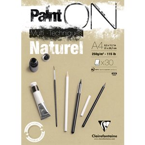 PAINT ON NATUREL 250g 30fls
