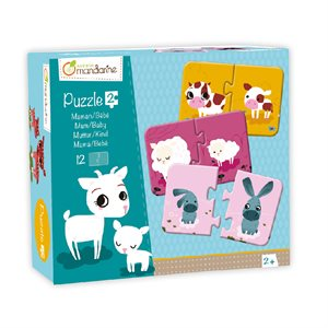 Puzzles alphabet de avenue mandarine for Barbie chien piscine